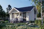 Визуализация жилого дома для сайта