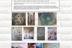 Сайт-портфолио работ художника Александры Галочкиной