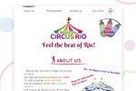 "Сайт для цирка в Австралии ""Brazilian Circus Rio"""