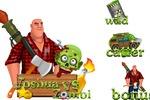 Отрисовка персонажа и иконок для игры