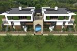 Фасад жилого дома г.Сочи