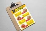 Дизайн меню для пиццерии.1
