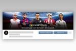 """шапка-обложка официального сообщества ВК """"La Liga"""""""