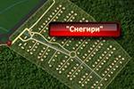 Карта проезда к загородному посёлку