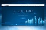 Landing Page для проведения ICO (биржа Trexerio)