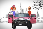 Промо фирмы проката лимузинов LIMO1