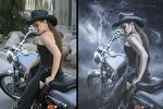 Обработка фото в стиле Hollywood