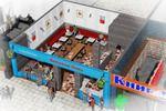 3D opentype-cafe