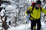 Ергаки: хождение на снегоступах