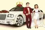Персонажи для компании по прокату лимузинов