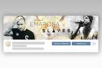 """шапка-обложка ВК """"Emarosa & SLAVES"""""""