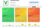 Мобильное приложение ios Эковизор
