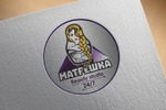 """логотип для салона красоты """"Матрешка"""""""
