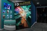 """Визуализация зоны ресепшен для сети Кинотеатров """"7D avatar"""""""