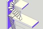 Лестница #08
