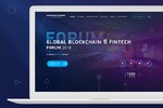 Global Blokchain - landing page