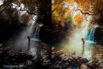 У водопада (художественная обработка)