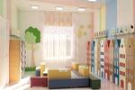 Дизайн гардероба в детской группе 2
