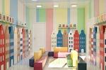 Дизайн гардероба в детской группе 1