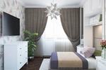 Дизайн маленькой спальни для женщины