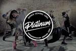 """логотип для школы танцев """"Platinum"""""""