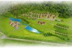 План коттеджного посёлка.