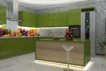 Моделирование и визуализация интерьера кухни©, cam_2
