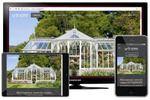 Сайт компании по строительству зимних садов