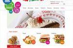 Дизайн на заказ для сайта пиццерии StarPizza