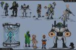 Эскизы кастовых персонажей