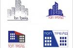 """4 варианта логотипа для компании """"Топ трейд"""""""