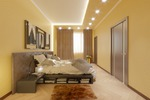 Визуализация спальни 3Ds Max + Corona, cam_1