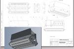 Рабочая CAD модель и КД светильника светодиодного(2014 г)