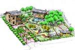 Ландшафтный дизайн частного участка