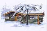 Ручная визуализация дома