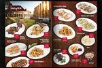 Разработка и верстка меню для ресторана