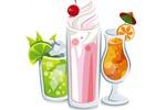 """Иллюстрация для сайта """"Напитки"""""""