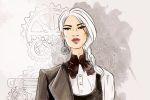 Fashion-иллюстрация в стиле SteamPunk