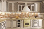 Кухня рендер 2