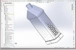 Рабочая CAD модель и КД флакона(2014 г)