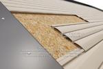 Визуализация зашивки ПВХ-панелями поверх ОСП-плиты