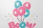"Разработка логотипа для интернет-магазина ""Party Boom"""