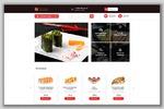 Интернет-магазин для продажи суши