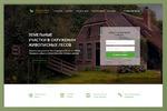 Продажа земельных участков под Москвой - дизайн Landing page