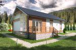 Визуализация отделки фасада частного дома