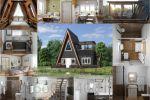 Дом у реки 3d