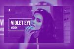 Дизайн промо сайта для casual брэнда Violet
