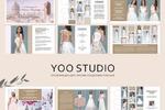 Презентация для свадебного салона YOO STUDIO