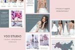 Презентация для салона свадебных платьев YOO STUDIO