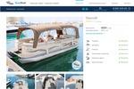 Разработка сайта прокат Яхт